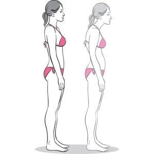 postura mujer