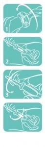 como insertar el dilatador amielle care