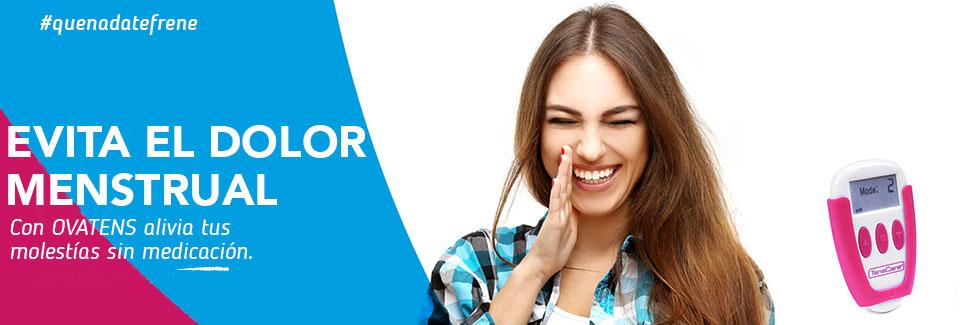 ovatens es un dispositivo para el dolor menstrual