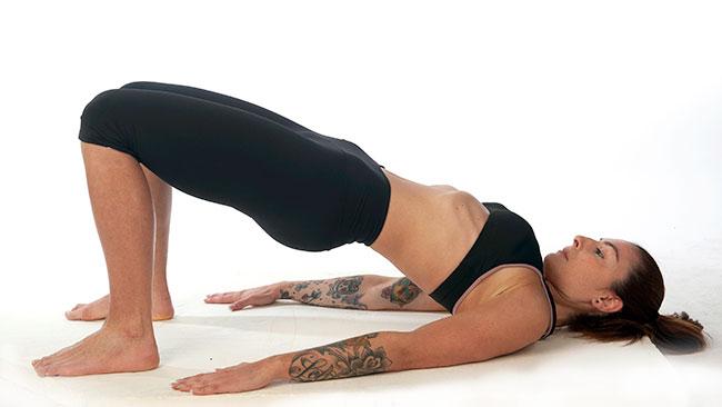 la postura hipopresiva de afrodita